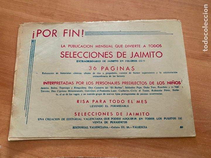 Tebeos: ROBERTO ALCAZAR Y PEDRIN Nº 60 EL MISTERIO DE LOS BUDAS (VALENCIANA) ORIGINAL (COIB9) - Foto 2 - 254523510