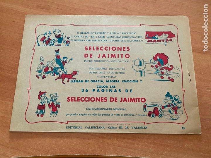 Tebeos: ROBERTO ALCAZAR Y PEDRIN Nº 16 EL ESPIA DE EL AGGAR (VALENCIANA) ORIGINAL (COIB9) - Foto 2 - 254524490