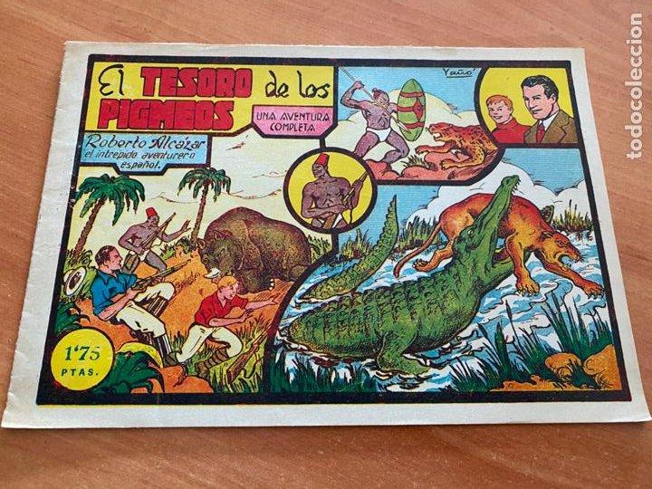 ROBERTO ALCAZAR Y PEDRIN Nº 15 EL TESORO DE LOS PIGMEOS (VALENCIANA) ORIGINAL (COIB9) (Tebeos y Comics - Valenciana - Roberto Alcázar y Pedrín)