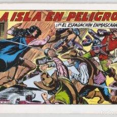 Tebeos: EL ESPADACHÍN ENMASCARADO. LA ISLA EN PELIGRO. Nº 82. 2ª EDICIÓN.COMIC. Lote 254558320