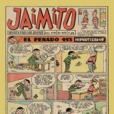 Tebeos: JAIMITO-SEMANAL- Nº 692 -PALOP-KARPA-SANCHIS-CARBÓ-CERDÁN-NIN-1962-BUENO-DIFÍCIL-LEA-4580. Lote 254810305