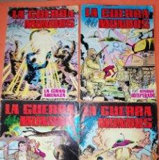 Tebeos: LA GUERRA DE LOS MUNDOS. COMPLETA . CUATRO NUMEROS. EDITORIAL VALENCIANA. 1979. Lote 254890250