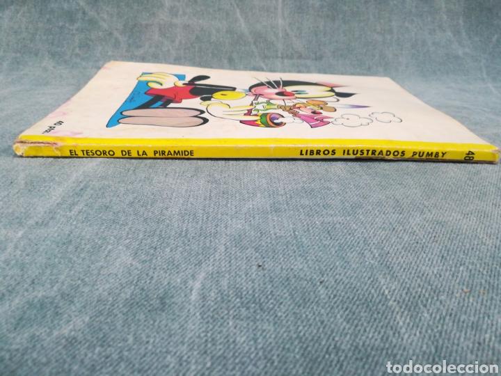 Tebeos: PUMBY - EL TESORO DE LA PIRÁMIDE - LIBROS ILUSTRADOS PUMBY Nº 48 - DIFÍCIL - Foto 3 - 254953800