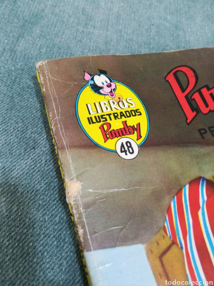 Tebeos: PUMBY - EL TESORO DE LA PIRÁMIDE - LIBROS ILUSTRADOS PUMBY Nº 48 - DIFÍCIL - Foto 10 - 254953800