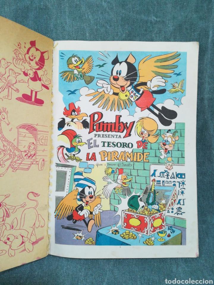 Tebeos: PUMBY - EL TESORO DE LA PIRÁMIDE - LIBROS ILUSTRADOS PUMBY Nº 48 - DIFÍCIL - Foto 11 - 254953800
