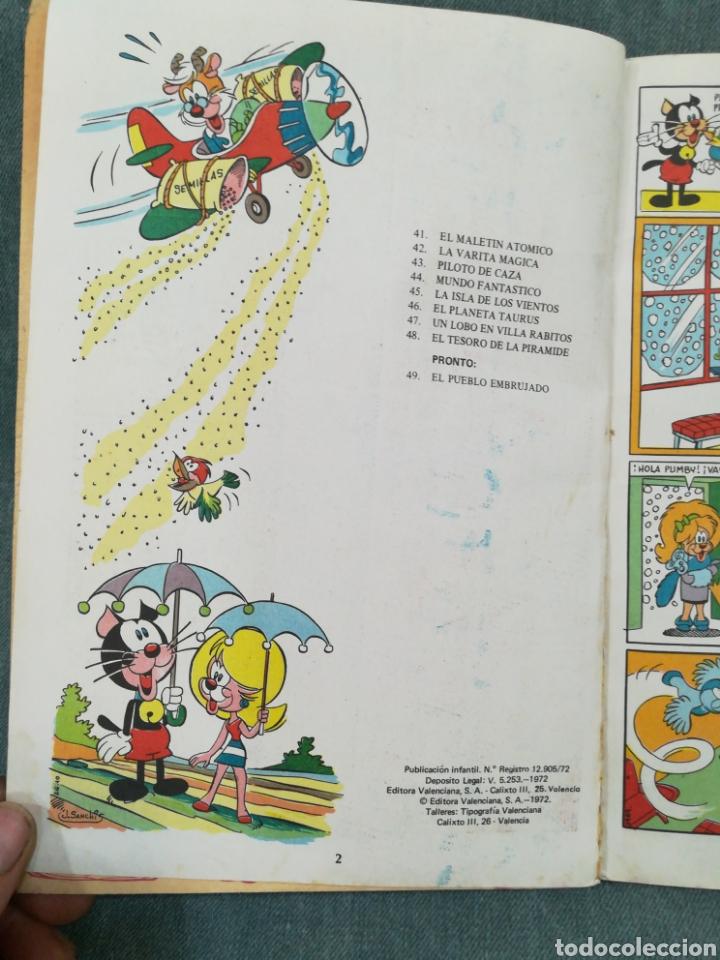 Tebeos: PUMBY - EL TESORO DE LA PIRÁMIDE - LIBROS ILUSTRADOS PUMBY Nº 48 - DIFÍCIL - Foto 12 - 254953800