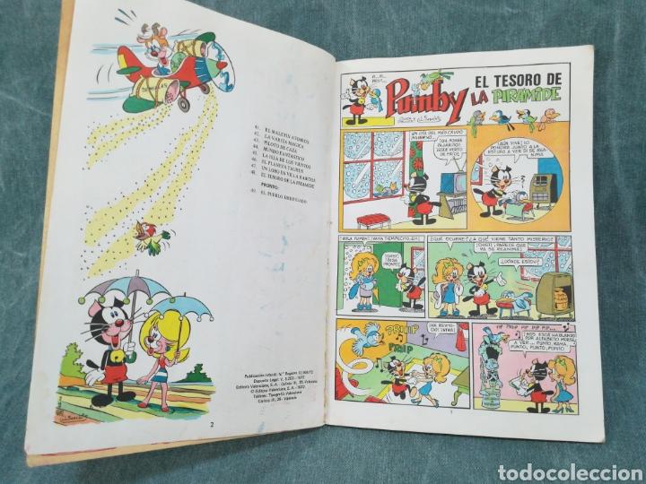 Tebeos: PUMBY - EL TESORO DE LA PIRÁMIDE - LIBROS ILUSTRADOS PUMBY Nº 48 - DIFÍCIL - Foto 13 - 254953800