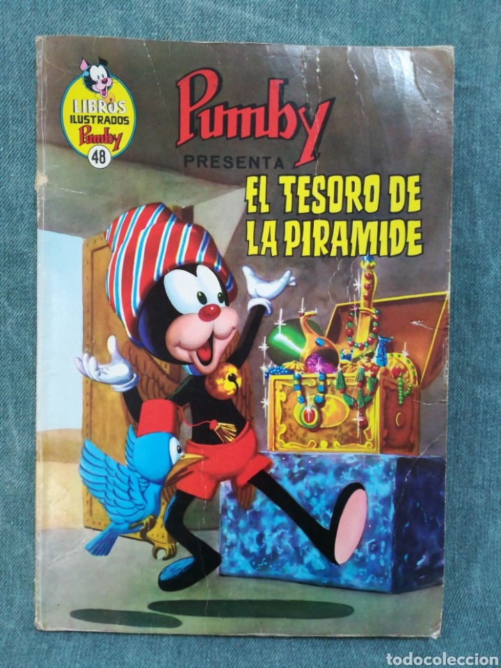 PUMBY - EL TESORO DE LA PIRÁMIDE - LIBROS ILUSTRADOS PUMBY Nº 48 - DIFÍCIL (Tebeos y Comics - Valenciana - Pumby)