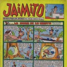 Tebeos: JAIMITO-SEMANAL- Nº 800 -PALOP-KARPA-SANCHIS-ROJAS-NIN-1965-CASI BUENO-DIFÍCIL-LEA-4583. Lote 254976095