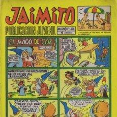 Tebeos: JAIMITO-SEMANAL- Nº 1073 -PALOP-KARPA-SANCHIS-SERAFÍN-AMBRÓS-ROJAS-1970-REGULAR-DIFÍCIL-LEA-4585. Lote 254988180