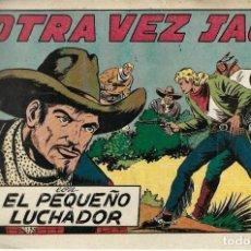 Tebeos: EL PEQUEÑO LUCHADOR Nº 55, OTRA VEZ JACK, ORIGINAL AÑOS 40. Lote 254995265