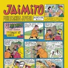 Tebeos: JAIMITO-SEMANAL- Nº 1103 -PALOP-KARPA-SANCHIS-SERAFÍN-CEREZO-ROJAS-1970-CASI BUENO-DIFÍCIL-LEA-4587. Lote 254995530