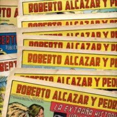 Tebeos: ROBERTO ALCAZAR Y PEDRIN - LOTE 15 EJEMPLARES - VALENCIANA AÑOS 60'S Y 70'S. Lote 254995715