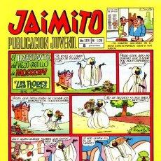 Tebeos: JAIMITO-SEMANAL- Nº 1120 -PALOP-KARPA-SANCHIS-SERAFÍN-CEREZO-CERDÁN-1971-CASI BUENO-DIFÍCIL-LEA-4587. Lote 255002025