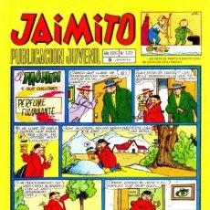 Tebeos: JAIMITO-SEMANAL- Nº 1127 -PALOP-KARPA-SANCHIS-SERAFÍN-CASTILLO-AMBRÓS-1971-BUENO-DIFÍCIL-LEA-4588. Lote 255003380
