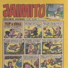 Tebeos: JAIMITO-SEMANAL- Nº 1243 -PALOP-KARPA-SANCHIS-SERAFÍN-CERDÁN-1973-CASI BUENO-ÚNICO EN TC-LEA-4589. Lote 255377370