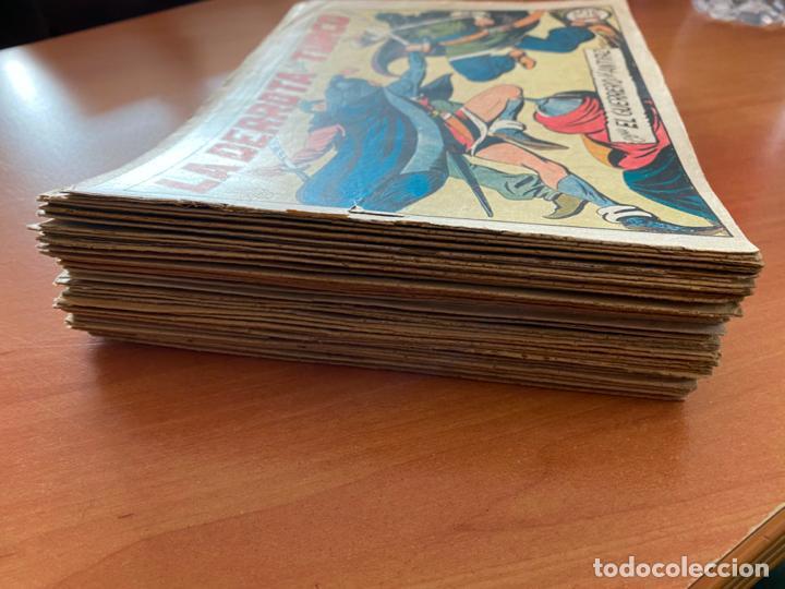Tebeos: EL GUERRERO DEL ANTIFAZ LOTE 53 EJEMPLARES DIFERENTES (VALENCIANA) ORIGINAL (COIB31) - Foto 2 - 255443215