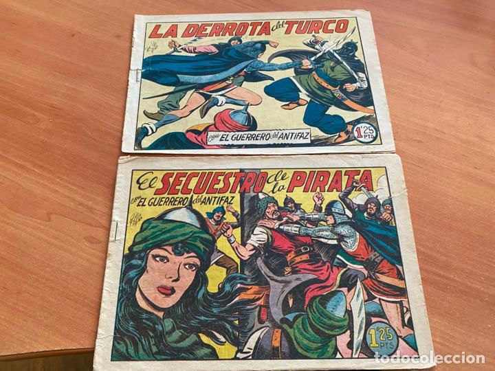 Tebeos: EL GUERRERO DEL ANTIFAZ LOTE 53 EJEMPLARES DIFERENTES (VALENCIANA) ORIGINAL (COIB31) - Foto 3 - 255443215