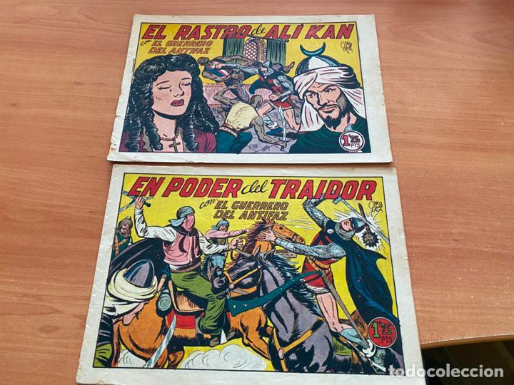 Tebeos: EL GUERRERO DEL ANTIFAZ LOTE 53 EJEMPLARES DIFERENTES (VALENCIANA) ORIGINAL (COIB31) - Foto 6 - 255443215