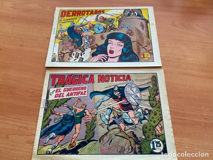 Tebeos: EL GUERRERO DEL ANTIFAZ LOTE 53 EJEMPLARES DIFERENTES (VALENCIANA) ORIGINAL (COIB31) - Foto 8 - 255443215