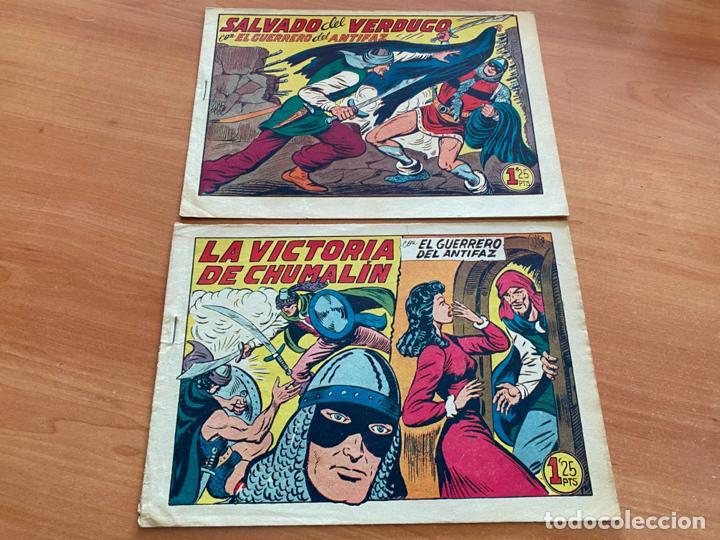 Tebeos: EL GUERRERO DEL ANTIFAZ LOTE 53 EJEMPLARES DIFERENTES (VALENCIANA) ORIGINAL (COIB31) - Foto 12 - 255443215