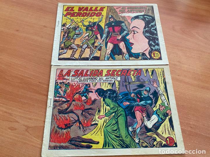 Tebeos: EL GUERRERO DEL ANTIFAZ LOTE 53 EJEMPLARES DIFERENTES (VALENCIANA) ORIGINAL (COIB31) - Foto 18 - 255443215