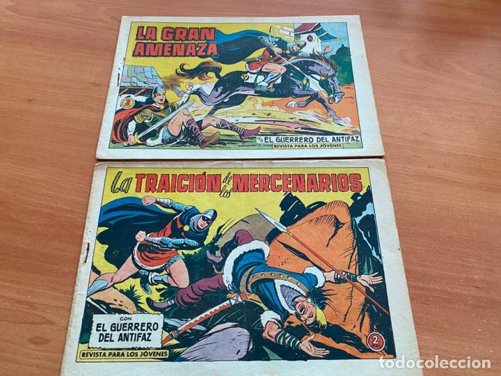 Tebeos: EL GUERRERO DEL ANTIFAZ LOTE 53 EJEMPLARES DIFERENTES (VALENCIANA) ORIGINAL (COIB31) - Foto 26 - 255443215