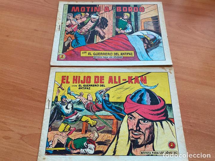 Tebeos: EL GUERRERO DEL ANTIFAZ LOTE 53 EJEMPLARES DIFERENTES (VALENCIANA) ORIGINAL (COIB31) - Foto 28 - 255443215