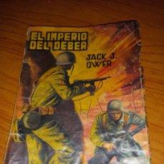 Tebeos: EL IMPERIO DEL DEBER DE JACK J.OWER COLECION COMANDO EDITORIAL VALENCIANA Nº152. Lote 255460535