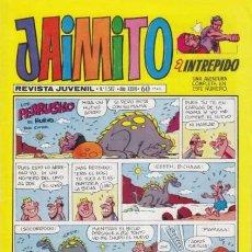 Tebeos: JAIMITO-SEMANAL- Nº 1582 -PALOP-KARPA-SANCHIS-SIFRE-AMORÓS-VAÑÓ JR.-1981-BUENO-DIFÍCIL-LEA-4599. Lote 255517920