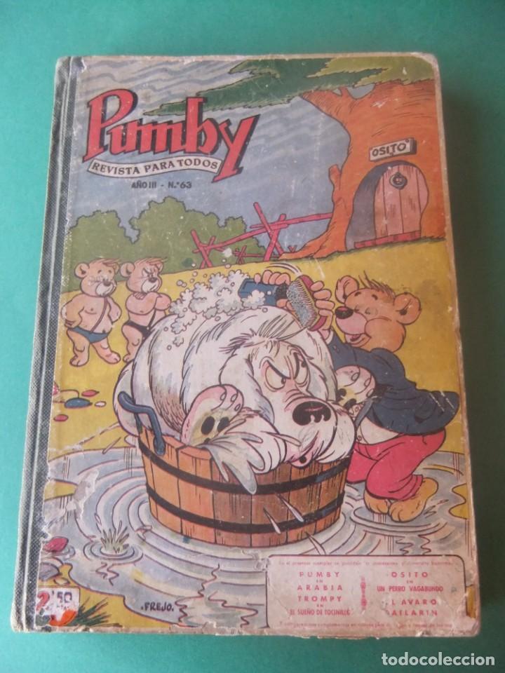 PUMBY TOMO CON 10 NUMEROS EDITORIAL VALENCIANA 1957 (Tebeos y Comics - Valenciana - Pumby)