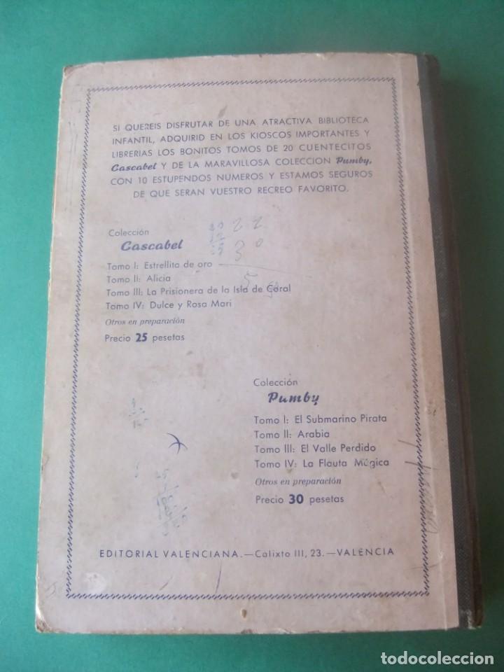 Tebeos: PUMBY TOMO CON 10 NUMEROS EDITORIAL VALENCIANA 1957 - Foto 3 - 255969825