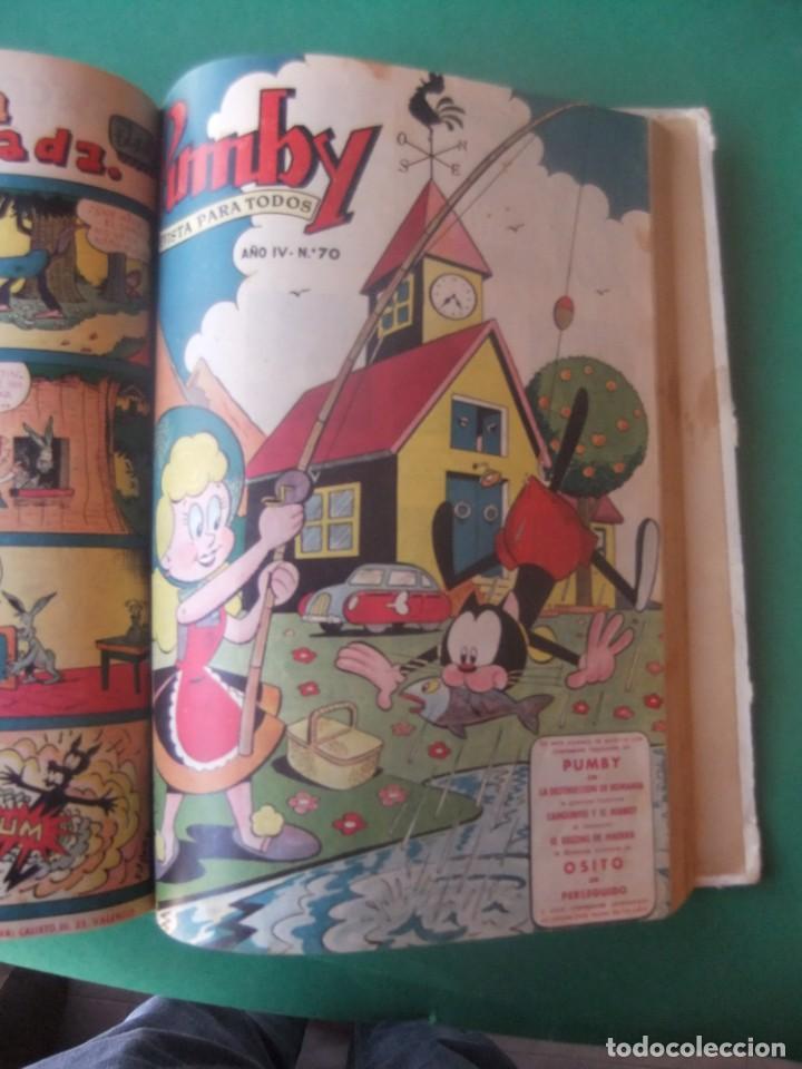 Tebeos: PUMBY TOMO CON 10 NUMEROS EDITORIAL VALENCIANA 1957 - Foto 11 - 255969825