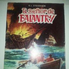 Tebeos: EL SEÑOR DE BALANTRY (CLASICOS ILUSTRADOS). Lote 255979880
