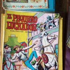 Tebeos: EL PEQUEÑO LUCHADOR Nº 45: VUELVE LARRY SUTTON. Lote 256116175