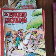 Tebeos: EL PEQUEÑO LUCHADOR Nº 44: LA CARRERA DE LA MUERTE. Lote 256118045