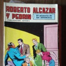 Tebeos: ROBERTO ALCAZAR Y PEDRÍN: EL MISTERIO DE LOS AUTÓMATAS. Lote 256121950