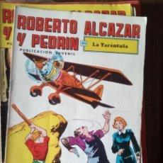 Tebeos: ROBERTO ALCAZAR Y PEDRÍN Nº 89: LA TARÁNTULA. Lote 256122175