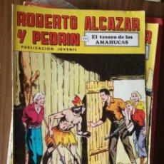 Tebeos: ROBERTO ALCAZAR Y PEDRÍN Nº 90: EL TESORO DE LOS AMAHUCAS. Lote 256122360