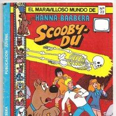 Tebeos: SCOOBY-DU: LA MALDICIÓN DE HOO-DOONS / EL MARAVILLOSO MUNDO DE HANNA-BARBERA, 22 – EV, 1978. Lote 257302180