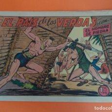 Tebeos: PURK EL HOMBRE DE PIEDRA Nº 130 EDITORIAL VALENCIANA ORIGINAL. Lote 257343690