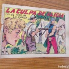 Tebeos: EL HIJO DE LA JUNGLA Nº 13 EDITA VALENCIANA. Lote 257423020