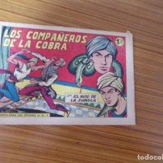 Tebeos: EL HIJO DE LA JUNGLA Nº 39 EDITA VALENCIANA. Lote 257428075