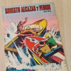 Tebeos: MUY BUEN ESTADO ROBERTO ALCAZAR Y PEDRIN EXTRA 45 TEBEO COMIC VALENCIANA. Lote 257433580
