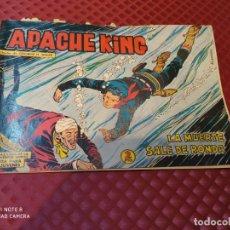Tebeos: APACHE KING Nº 20 LA MUERTE SALE DE RONDA VALNCIANA 1962 - BUEN ESTADO. Lote 257549105