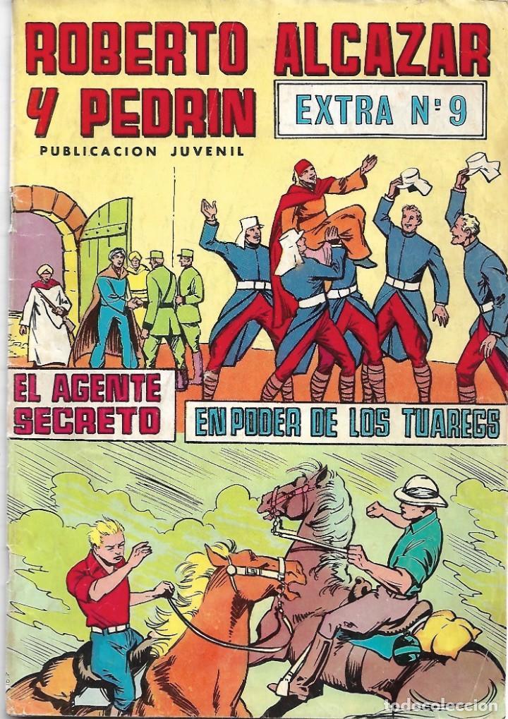 ROBERTO ALCÁZAR Y PEDRÍN. EXTRA Nº 9. PEDIDO MÍNIMO EN CÓMICS: 4 UNIDADES (Tebeos y Comics - Valenciana - Roberto Alcázar y Pedrín)
