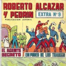 Tebeos: ROBERTO ALCÁZAR Y PEDRÍN. EXTRA Nº 9. PEDIDO MÍNIMO EN CÓMICS: 4 UNIDADES. Lote 257585775