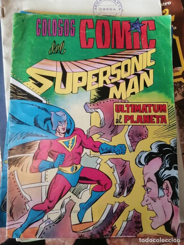 ULTIMATUM AL PLANETA. COLOSOS DEL CÓMIC. SUPERSONIC MAN (Tebeos y Comics - Valenciana - Colosos del Comic)