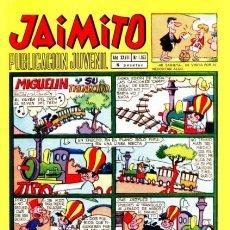 Giornalini: JAIMITO-SEMANAL- Nº 1163 -PALOP-KARPA-SANCHIS-SERAFÍN-CASTILLO-1972-BUENO-MUY DIFÍCIL-LEA-4629. Lote 257715240