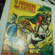 Livros de Banda Desenhada: EL GUERRERO DEL ANTIFAZ Nº 77 1973 (BUEN ESTADO, PERO CON NOMBRE EN CONTRAPORTADA Y FIRMAS). Lote 258193590